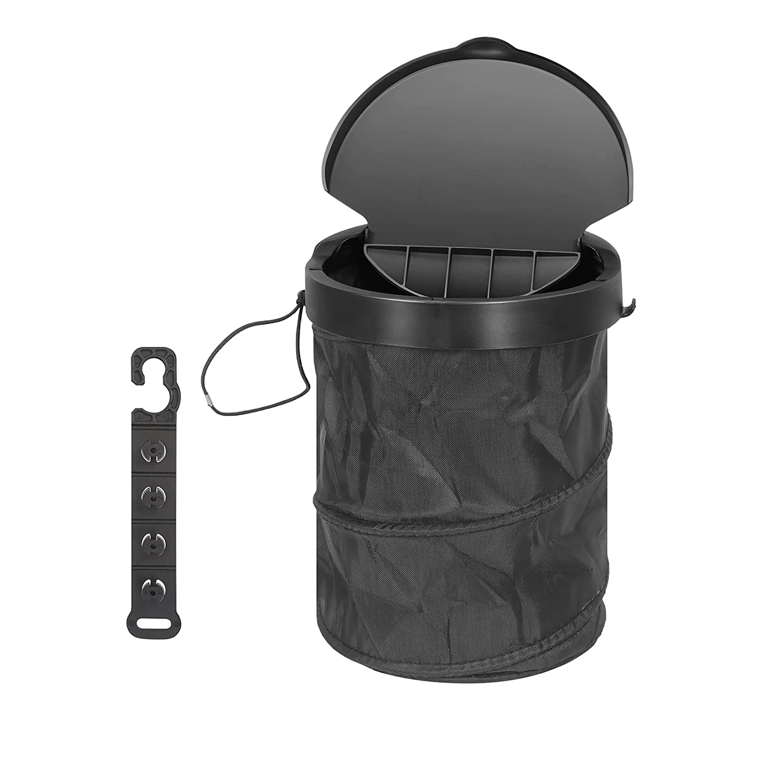 FYY Car Trash Can with Lid Le Tampa Mall Daily bargain sale Bin Up Pop Collapsible