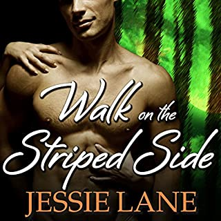 Walk on the Striped Side     Big Bad Bite, Book 2              Written by:                                                                                                                                 Jessie Lane                               Narrated by:                                                                                                                                 Chandra Skyye                      Length: 9 hrs and 39 mins     1 rating     Overall 5.0