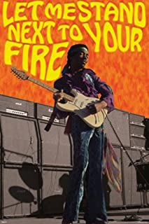 Pyramid America Jimi Hendrix Let Me Stand Next to Your Fire Poster