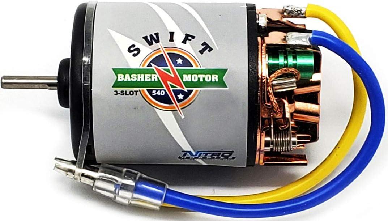 Nitro Hobbies Swift Basher 3-Slot 540 13T Motor