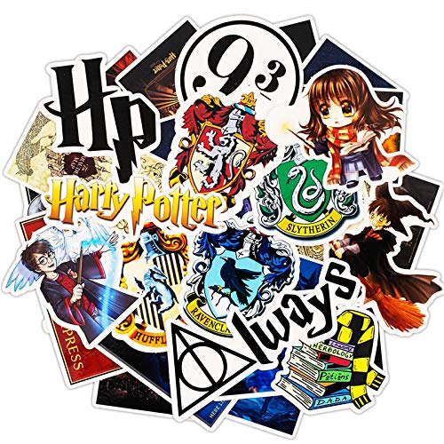 Cartoon Harry Vinyl Potter stickers, suitable for laptops, skateboards, phones, cars, motorcycles, boys and girls, cute children's graffiti decoration, personalized reward waterproof PVC stickers