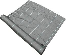 GroundMaster, membrana di copertura per terreno, larga 1 m, tessuto resistente controllo erbacce