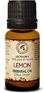 Aceite de Limón 10ml - Limón Cítrico - Italia - Aceite de Limón 100% Puro Para un Buen Sueño - Cuidado corporal - Belleza ...