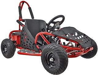 MotoTec 48v 1000w Off Road Go Kart in Red