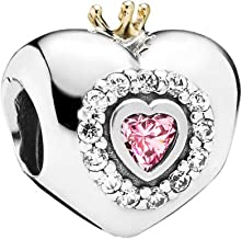 Pandora Princess Heart Charm 791375PCZ