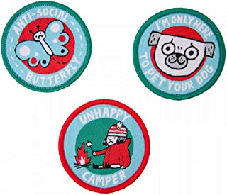 Ohh Deer Woven Patch Guides Set (Set Of 3)