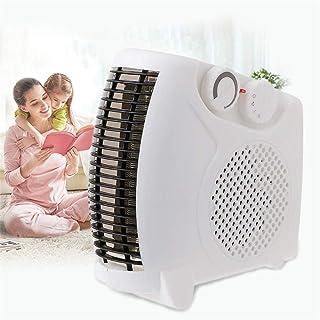 CRZJ Calefactor Eléctrico Pequeño Aire Acondicionado Hogar Mini Regulación De Velocidad De Tres Velocidades Calentador Calentador De Pie Calentador Electrico Regalo Ventas Blanco