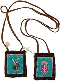 Venerare Holy Subject Scapulars | 16 Subjects | 100% Wool | Comes with Enrollment Papers