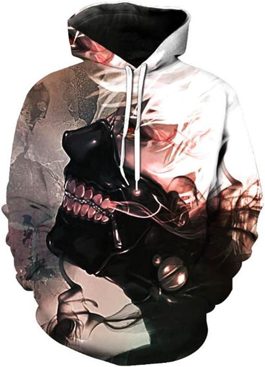 Herren Damen Tokyo ghoul Ken 3D Men Hoodie Kapuzenpullover Sweatshirt Pullover