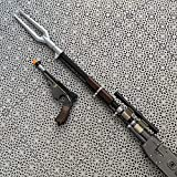 The Mandalorian Rifle Sniper and Mandalorian Blaster (3D Printed color) Props Cosplay Replica - Mando Rifle