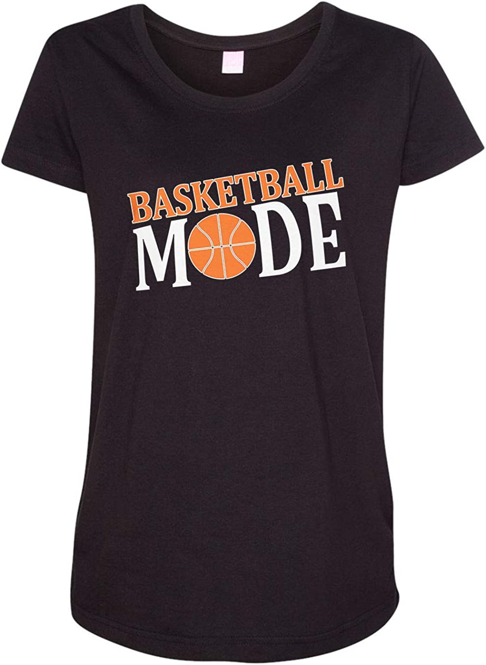 HARD EDGE DESIGN Women's Basketball Mode T-Shirt