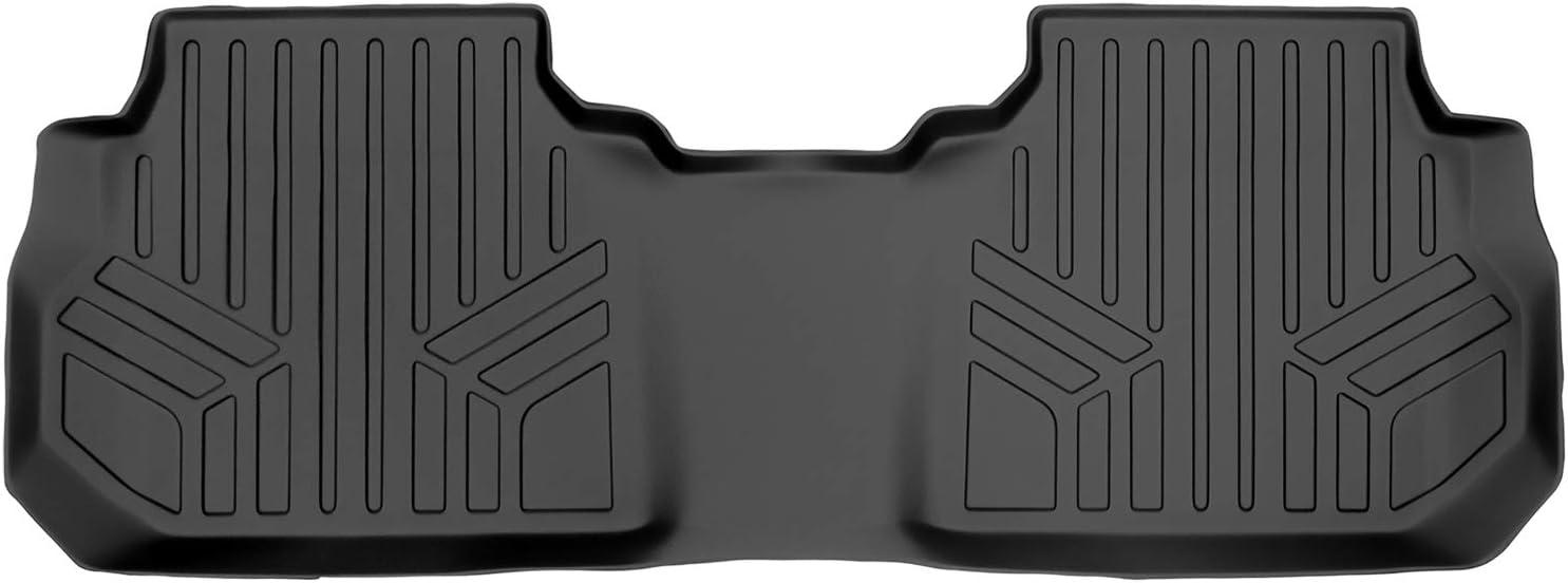 MAXLINER Floor Mats 2nd Row Liner Cadillac Black Direct sale Overseas parallel import regular item of manufacturer for 2017-2021 X