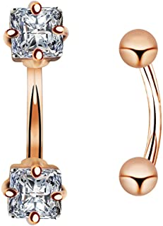 Amazon Com Small Belly Button Ring