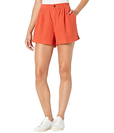 Madewell Linen Blend Track Shorts