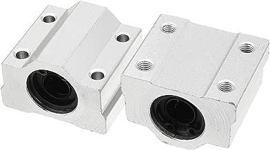 uxcell 2pcs SCS10 LM10UU 10mm Bore Linear Motion Ball Bearing 35mmx26mmx40mm Slide Bushing Block
