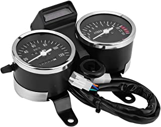 Acouto Motorcycle Odometer Speedometer Tachometer Speedometer Modified Accessories for Suzuki GN125