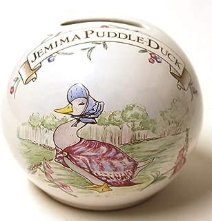 Beatrix potter Jemima Puddle Duck Money bank