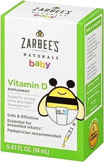 Zarbee`s Naturals Baby Vitamin D Supplement, 0.47 Ounce Bottle