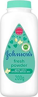 JOHNSON'S Baby Diapering Powder, Fresh, 200g