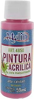 Mylin Pintura Acrílica para Manualidades 59 ml No Tóxica C