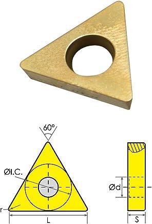 HHIP 6020-1324 TPG-324 C6 TiN Coated Carbide Insert