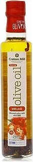 Extra natives Olivenöl verfeinert mit Boukovo 250ml scharf würziges Chili Pepperoni Oliven Öl aus Kreta Griechenland