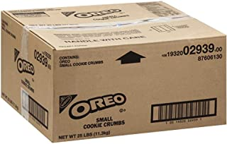 Oreo Pieces Small Crunch Cookie Crumbs 25 Lbs box