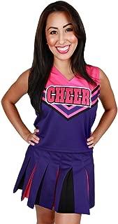 Girls Sweetie Pie Cheerleader Halloween Costume