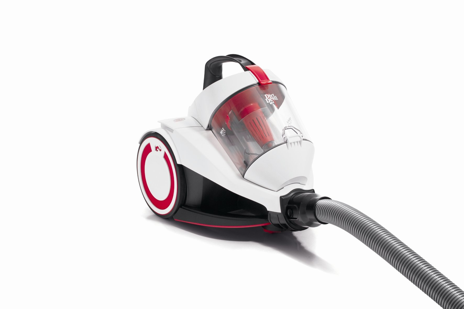 Dirt Devil Rebel 20 - Aspirador sin bolsa 1800 W, compacto, color blanco: Amazon.es: Hogar
