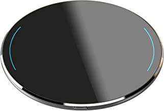 TOZO W1 Wireless Charger Thin Aviation Aluminum Computer Numerical Control Technology Fast Charging Pad Space Gray (NO AC ...