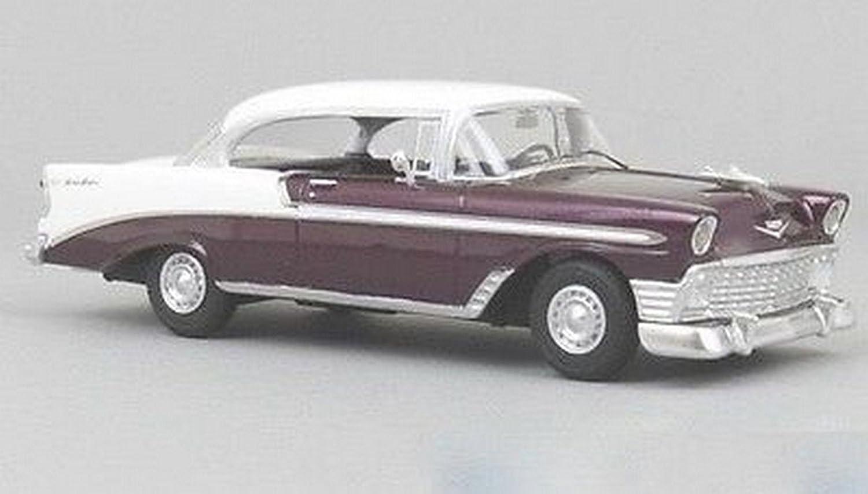 Envio gratis en todas las ordenes NEO SCALE MODELS NEO47035 CHEVROLET BEL AIR SPORT COUPE 1956 1956 1956 rojo BEIGE 1 43  venta directa de fábrica