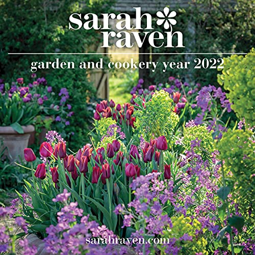 Sarah Raven Tuin- en Kookjaar 2022 Wandkalender (30,5 x 30,5 cm)