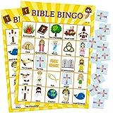 Bible Bingo Game for Vacation Bible School 24 Players...