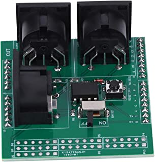 Tarjeta adaptadora MIDI, módulo de protección, accesorio de prueba, tarjeta de clavija MIDI de 2,54 mm, herramienta de prueba de mantenimiento