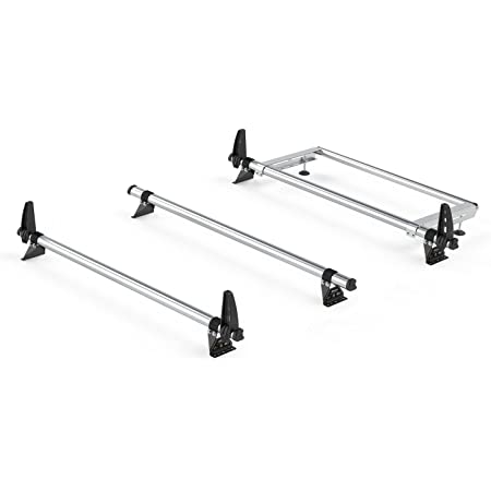 H1 2006 on Van Demon Rhino Delta 3 Bar Roof Bars and Rear Steel Ladder Roller System for Citroen Relay