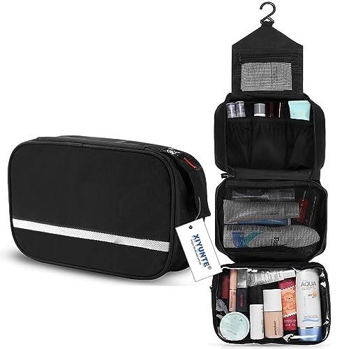 dbaa5f91ee68 Hanging Travel Toiletry Bag - Folding Portable Waterproof Cosmetic Bag
