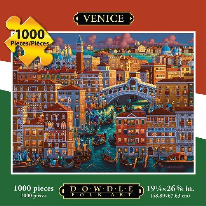 Jigsaw Puzzle - Venice 1000 Pc By Dowdle Folk Art by Dowdle Folk Art B01LWBRBNN Niedriger Preis und gute Qualität | Geeignet für Farbe