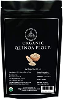 Naturevibe Botanicals Organic Quinoa Flour, 2lbs | Non-GMO and Gluten Free | Protein Rich [packaging may vary]