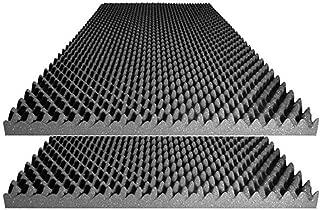 Foamily Acoustic Foam Egg Crate Panel Studio Foam Wall Panel 48