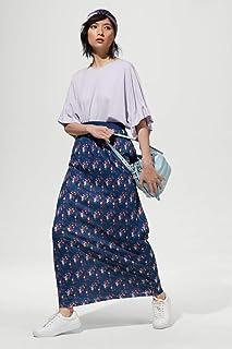 Rina Skirt for Women - strips - light material size XXL