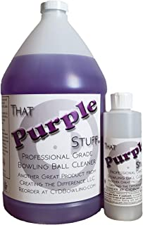 Creating the Difference That Purple Stuff Bowling Ball Cleaner 1 Gallon