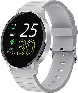 LTLJX Smartwatch Orologio Fitness Uomo Donna con Cardiofrequenzimetro Polso Impermeabile IP67 Sport Pedometro Smart Watch ...