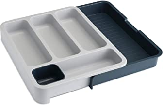Joseph Joseph DrawerStore Expandable Cutlery Tray, Dark Grey