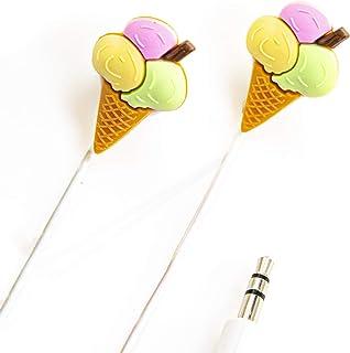 Beya in-Ear Earbud Headphones: Ice Cream