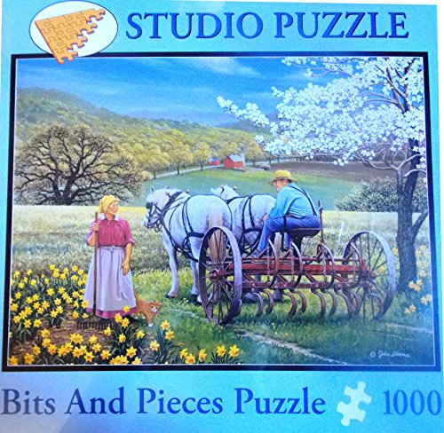 Bits and Pieces Happy Hearts By: John Sloane 1000 Jigsaw Puzzle Pieces