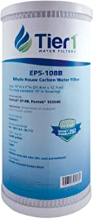 Tier1 Replacement for Pentek EP-BB 5 Micron 10 x 4.5 Carbon Block Water Filter