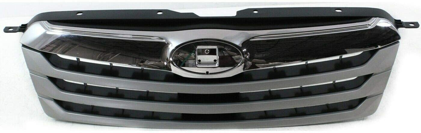 Los Angeles Mall Grille Ranking TOP16 Assembly Compatible with 2010-12 Wit Silver Outback Wagon