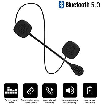 Amazon Com Baile Upgraded Version Wierless Motorcycle Helmet Headset With Bluetooth 5 0 High Sound Quality Louder Bluetooth Headset Wireless Helmet Heaphones Communication Systems For Motorbike 0 45 Slim Home Audio Theater