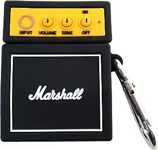 Marshall アンプ AirPods AirPods Pro ケース ブラック マーシャル エアポッズ プロ カバー ワイヤレス イヤホン ヘッドホン iPhone (AirPods) [並行輸入品]