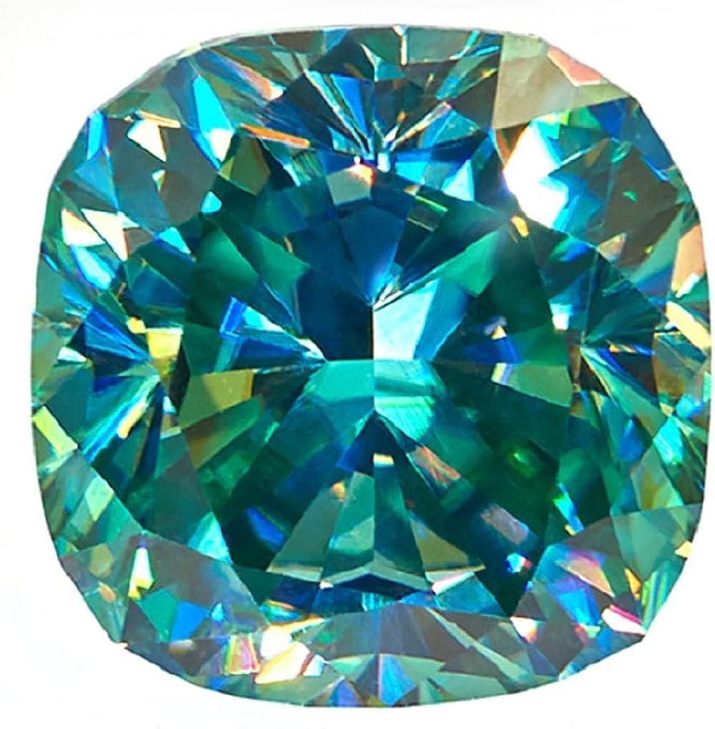 ERAA Jewel Super popular specialty store Loose Japan Maker New Moissanite 1.00CT-30.0CT Moissanit Green Color
